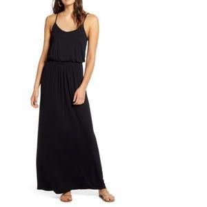NWT LUSH BLACK MAXI DRESS SIZE SMALL NORDSTROM